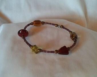 Earthly Shapes Clutch Bracelet