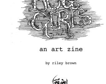Bug Girls art zine