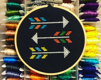 Arrows - Cross Stitch -