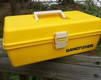 Fishing Box, Tackle Box, Gamefisher, craft storage,fishing equipment, craft box, tool box