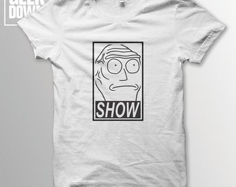 Cromulons *Obey* *Rick and Morty* t-shirt tee *unofficial* // Cromulons / show me what you got / funny t-shirts