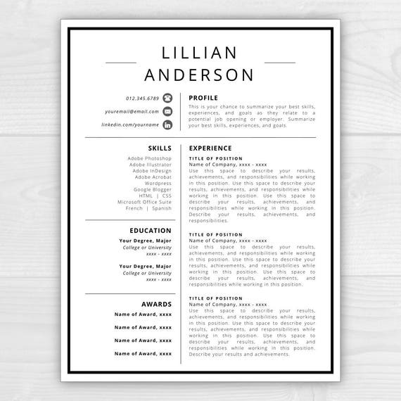 resume icons resume design resume template word resume cover letter resume template modern creative resume free resume template - Summarize Your Achievements