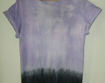 Unique Tie Dye T-Shirt acid wash T-shirt hipster festival trash grunge Retro 90s indie dip dye unisex rave skate top