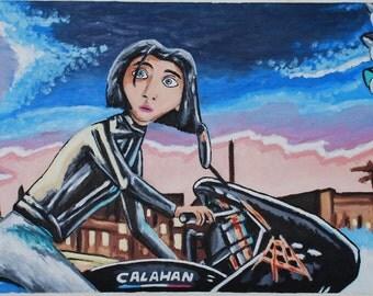 Girl on Bike - (Ratatouille)