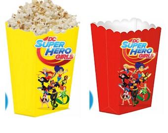 DC Superhero girls treat boxes