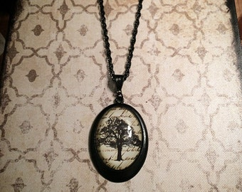 Tree of Life necklace // tree necklace // tree branch necklace // branch necklace // gothic necklace