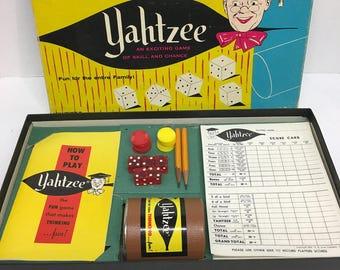 Yahtzee 1956 edition