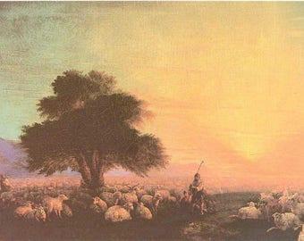 "Trusting Souls ""Morning Prayer Bookmark-Beyond this Day"" Sheep"