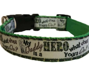 Solider Collar (For military owners or wives or companions, show support for the military)