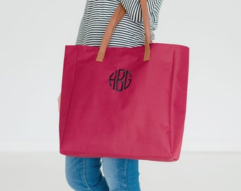 Monogrammed Game Day Tote