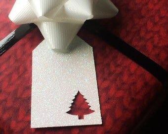 Tree Gift Tags • Christmas Gift Tags • Party Favor Tags • Christmas Wrapping • Christmas Decor