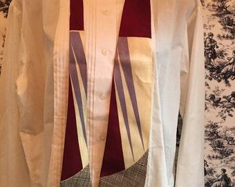 Vintage Wembley, necktie, madmen tie 1940s, 1950s, 1960s. FREE SHIPPING