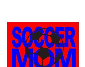 Soccer mom ball knockout t-shirt design  SVG Cut file  Cricut explore filescrapbook vinyl decal wood sign t shirt cricut cameo