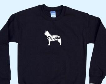 "Australian Cattle Dog ""MAMA"" - Dog Mama Crewneck Sweatshirt"
