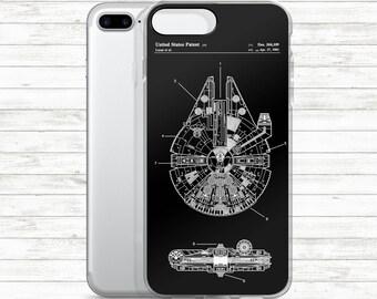 iPhone Case Millennium Falcon,iPhone 7, iPhone 7 Plus, iPhone 6 Plus, iPhone6S, iPhone6, iPhone5, iPhone5S, iPhone SE,  iPhone Case #P99