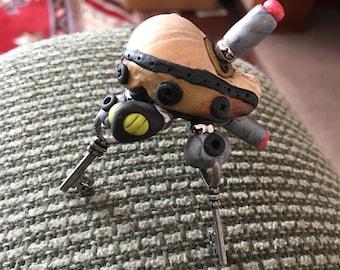 Steampunk robot hermitcrab