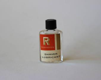 Vintage Remington Shaver Lubricant Bottle