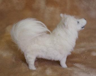 Made to Order Custom Needle Felted Samoyed Dog