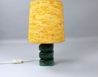 Vintage lamp, table lamp, bedside lamps, ceramic, desk lamp 60s