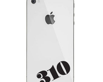 Area Code Decal - Custom Stickers / Custom Decal / Custom Area Code / 212 Decal