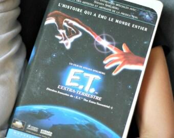 E.T movie FRENCH VHS, Extra-Terrestrial movie, Steven Spielberg movie, Drew Barrymore, MCA movie,  80s movie, 80s kids, 1982 movie