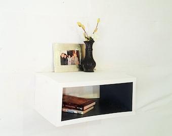 floating wood shelf bathroom vanity