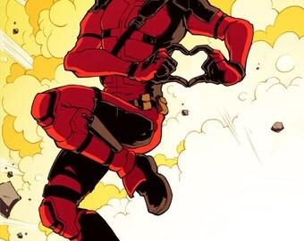 Deadpool Print