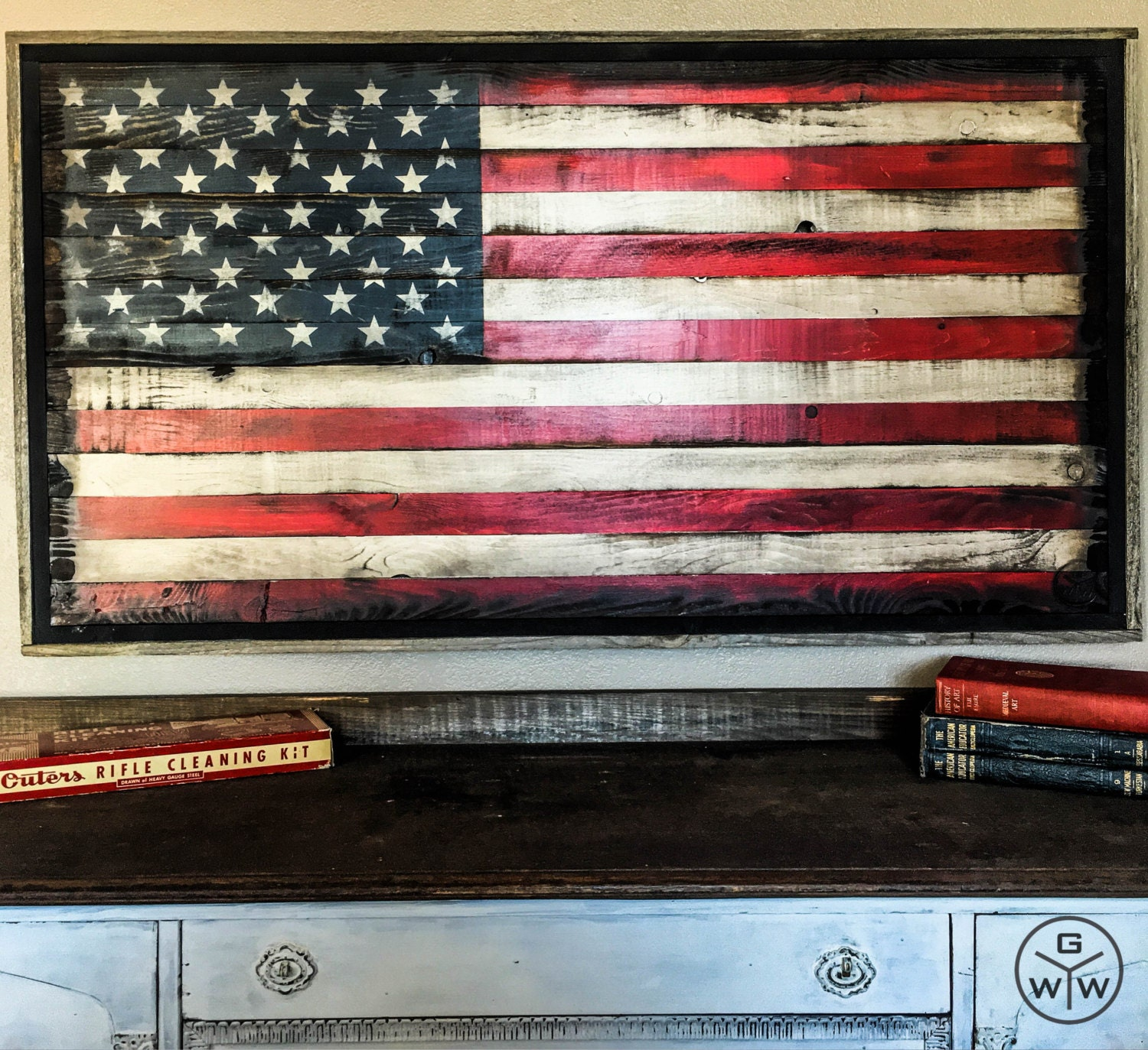 36 American Flag Wall Art Wood American By