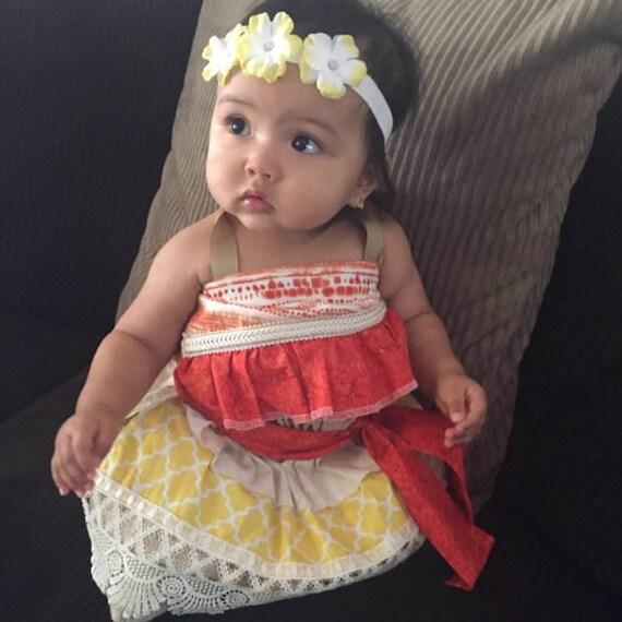Moana Costume Moana Dress Hawaiian Princess Costume Moana