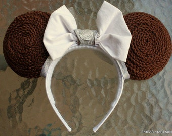Star Wars Princess Leia Mouse Ears, Reversible!