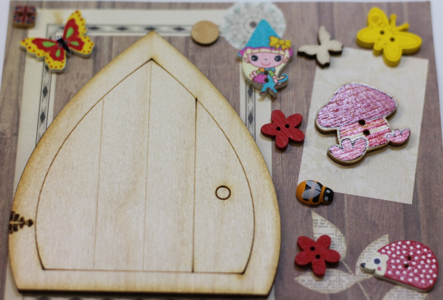 Fairy door kit elf door kit pixie door kit design your for Fairy door kits canada