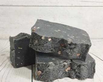 Salt Of The Earth Soap - Limited Edition - All Natural, Handmade, Hot Process, Vegan Soap