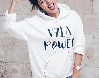 Venezuela Flag Design - White hoodie for women - Black hoodie for women - Venezuela Lovers