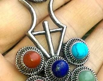 Chakra Pendant Gemstone Necklace
