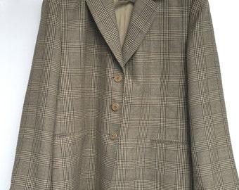 Gorgeous jacket/blazer Prince of Wales check ILIA T50 TTBE beige spring/summer grey BRIDGE