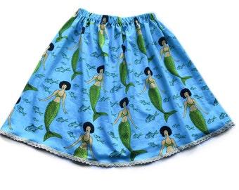 Adult funky little mermaid skirt
