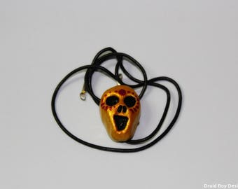 Skull Pendant Amulet Talisman To Protect From The Dead