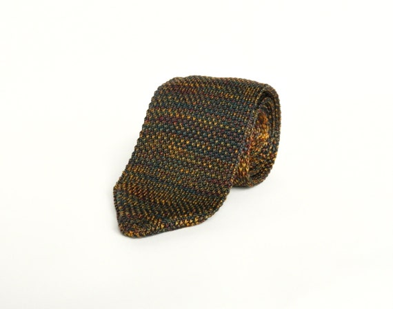 Knitted Wedding Gifts: Men's Knitted Tie Wedding Tie Gift For Men Groomsmen Knit