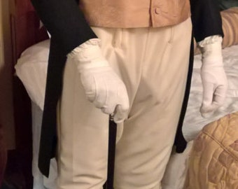 Regency Men's Fall Front Breeches