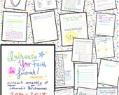 Ages 6+ Increase Your Faith in Jehovah! Circuit Assembly Program + Notes + Activities for Jehovah's Witnesses - Made by a Teacher