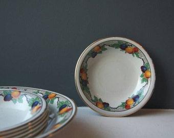 Vintage H & K Tunstall Pottery Bowls, Set of Bowls, Serving Bowl, Vintage China, Vintage Crockery, Dessert Bowls, Soup Bowls, Tableware