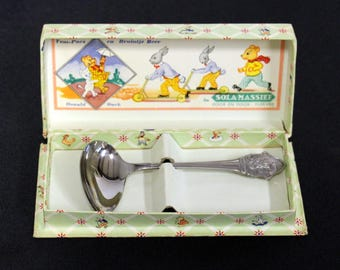 Sola Solid-Tom puss-childrens spoon in original box