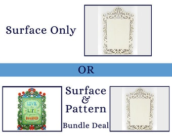 312 Words to Live By - Decorative Painting Pattern Packet-Filigree Wooden Surface-Pattern and Surface Bundle-Famous Saying-Blue Bird- Greens