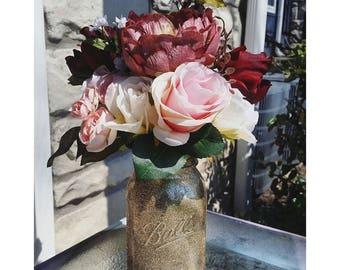 Glitter vase Etsy