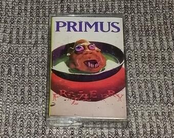 Primus: Frizzle Fry [Cassette Tape] 90s Alternative Cassette Harold of the Rocks Les Claypool Vintage Retro Cassette Tape 1990s Vintage
