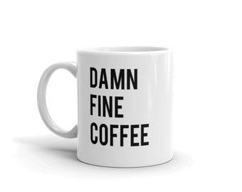 Twin Peaks Mug | Damn Fine Coffee | Cooper