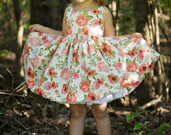 Girls Party Dress - Toddler Birthday Dress - Summer Dress - Girls Dress - Toddler Dress - Birthday Dress - Special Occasion Dress