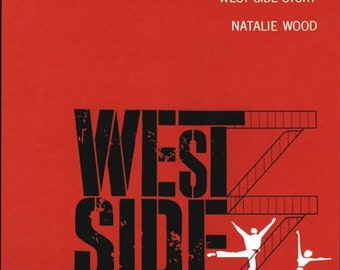 West Side Story Movie Poster  A3/A2/A1 Print