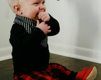 Baby Leggings - Toddler Leggings -  - Buffalo plaid leggings - Baby Clothes - Buffalo Plaid Pants - Lumberjack - Lumber Jack