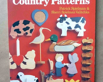 Scroll Saw Patterns - Scroll Saw Country Patterns - Woodworking - Wood Crafts - Country Crafts - Scroll Saw Designs - Animal Crafts - 1990